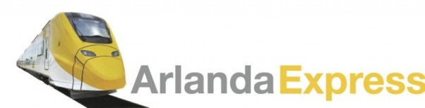 Logo for Arlanda Express.